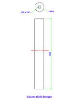 straight column
